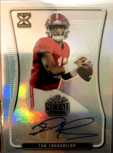 Tua Tagovailoa Rookie Card value