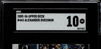 Alexander Ovechkin Young Guns