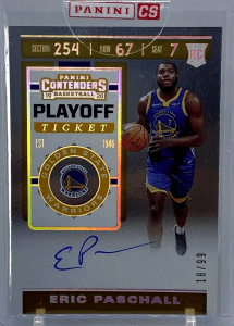 eric paschall contenders rookie card