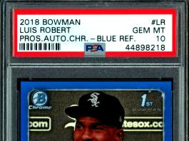 luis robert rookie card