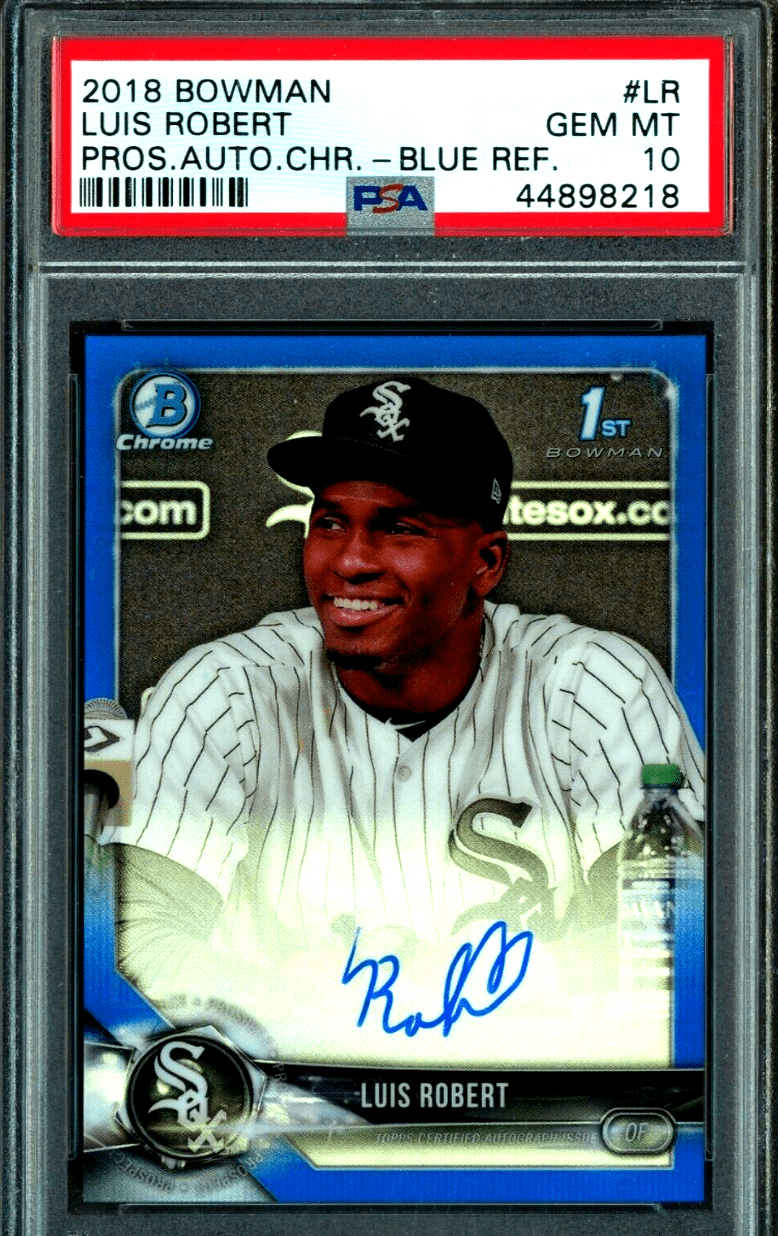 Luis Robert Rookie Card Top Cards Value Checklist And Investment Report