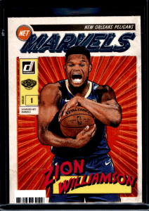 Panini Donruss Zion Williamson Net Marvels Rookie