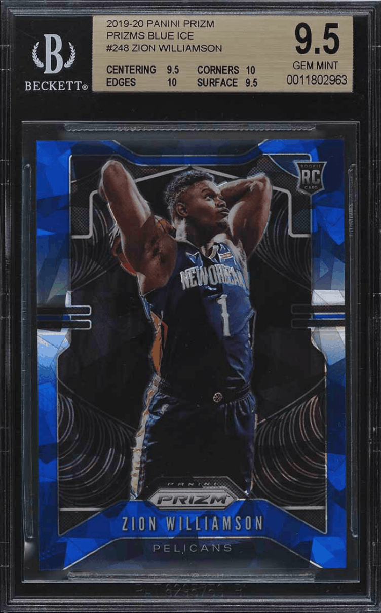 Top-Rated Zion Williamson Rookie Cards