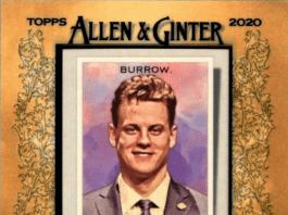 best joe burrow rookie card