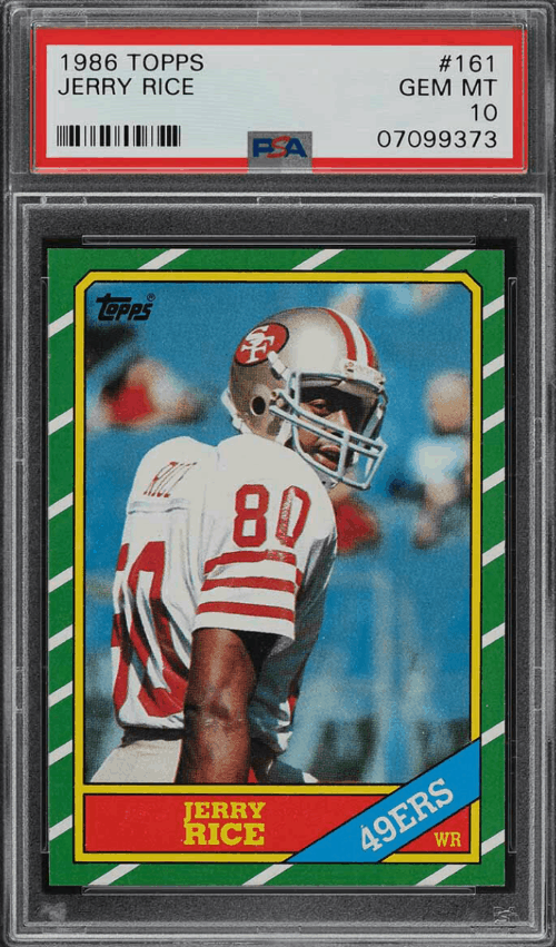 Jerry Rice Rookie Card