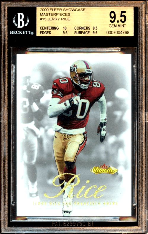 Jerry Rice Rookie Card Value