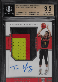 most expensive trae young rookie card