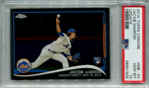 Jacob DeGrom Rookie Card Checklist