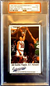 scottie pippen rookie card value
