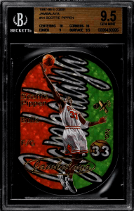 scottie pippen basketball card