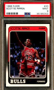 Scotty Pippen Rookie Card error