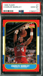 1986 Charles Barkley Fleer