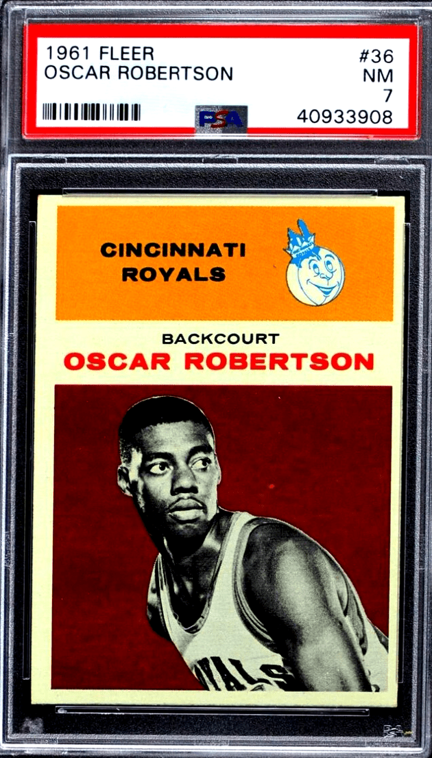most expensive basketball cards from 60s