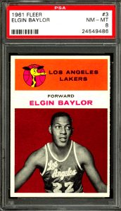 1961 Fleer Elgin Baylor