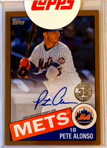 pete alonso topps redemption