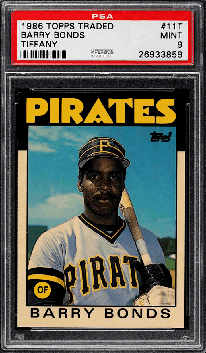 best baseball cards of the 80s
