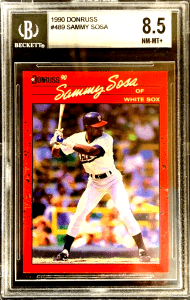 sammy sosa donruss rookie