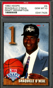 shaquille o'neal rookie card ebay