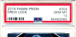 drew lock rookie card
