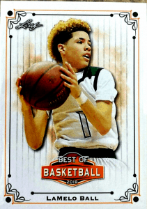 Leaf best of basketball lamelo ball