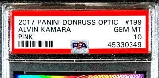 Alvin Kamar Rookie Card Auto