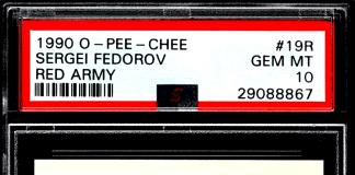sergei fedorov rookie card