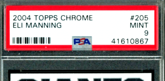 eli manning rookie card