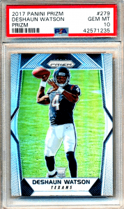 Gold Card Auctions Hot 10 (Must-Own Rookie Cards)