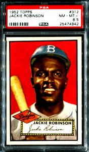 1952 topps baseball cards ebay jackie robinson