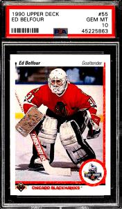 Ed Belfour Rookie Card