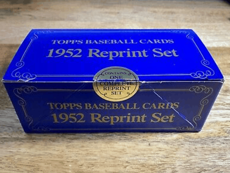 1952 Topps Baseball Card Reprint Set