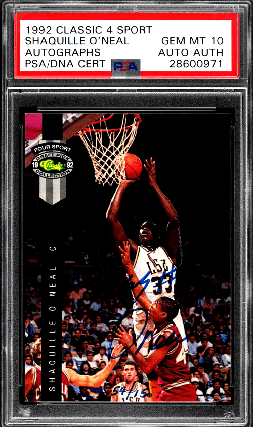 Shaquille O'Neal Rookie Card Value
