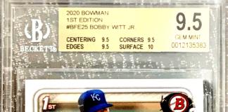 Bobby Witt Jr. Rookie Card