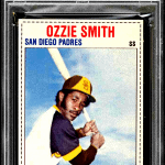 ozzie smith rookie card