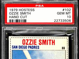 ozzie smith rookie card