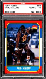 Karl Malone Rookie Card