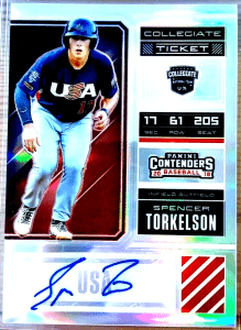 Spencer Torkelson Panini Elite