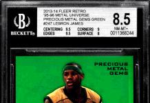 LeBron James basketball cards