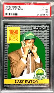 Gary Payton Rookie Card Value