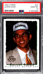 Jason Kidd Rookie Card