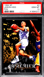 Jason Kidd SP Foil Rookie Card