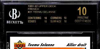 Teemu Selanne Rookie Card