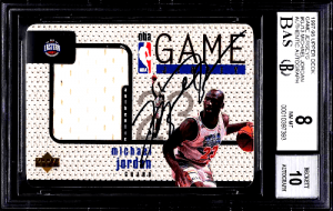 1997 Michael Jordan UD Game Jerseys #GJ13