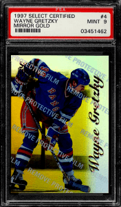 Wayne Gretzky Select Certified Mirror Gold
