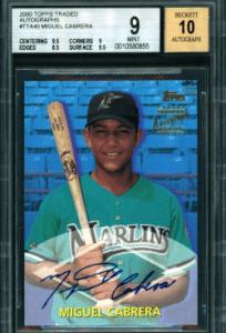 Miguel Cabrera Rookie Card Worth