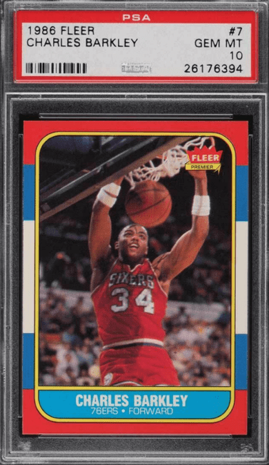 Buy Charles Barkley Rookie Cards