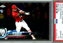 Victor Robles rookie card