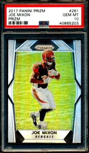 joe mixon prizm rookie card