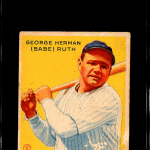 1933 Goudey Baseball Card Checklist