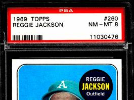 best Reggie Jackson rookie cards